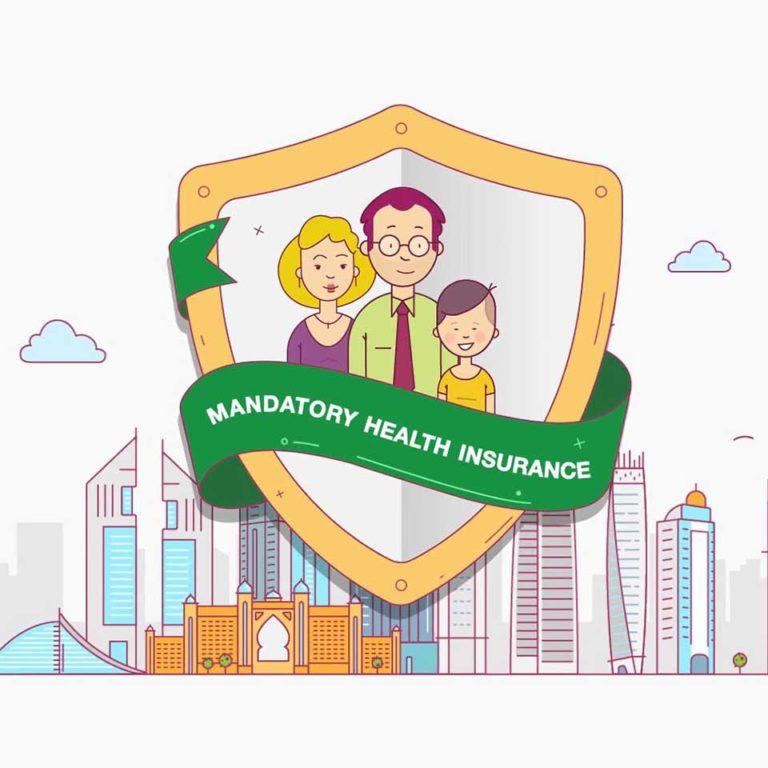 Social media video for Dubai insurance company by We Are Alive, animation studio in Dubai, the UK