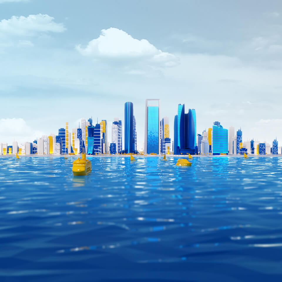 3D animation for brand launch campaign by We Are Alive, a video company based in Dubai and the UK