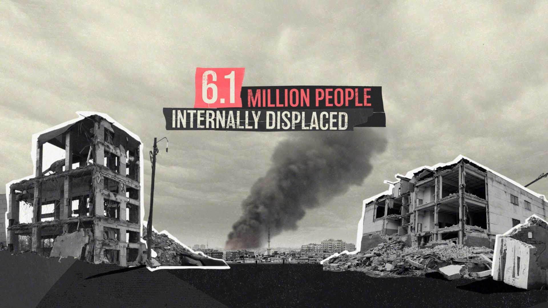 War in Syria data animation