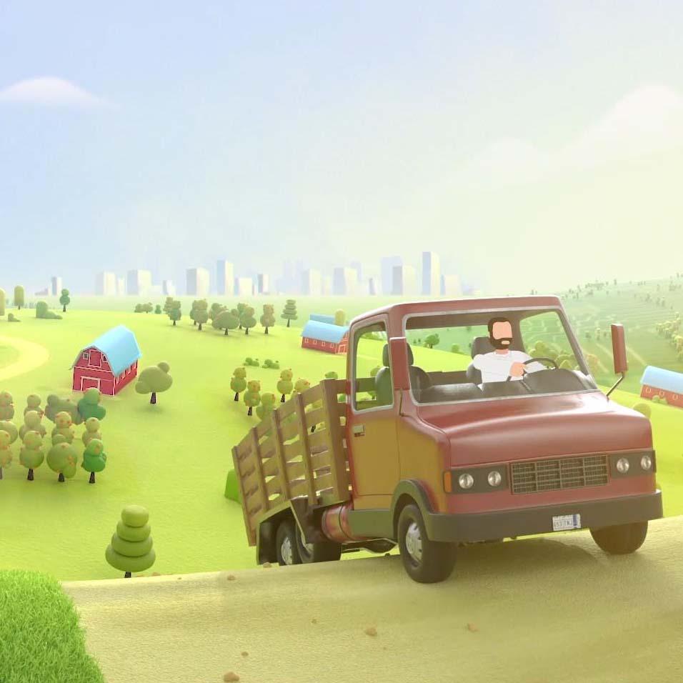 Tetra Pak 3d animated explainer video